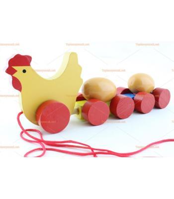Toptan eğitici oyuncak yumurta treni