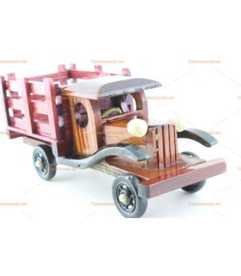 Toptan ahşap hediyelik eşya içecek servis kamyonu