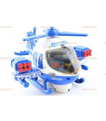 Toptan legolu ışıklı oyuncak savaş helikopteri