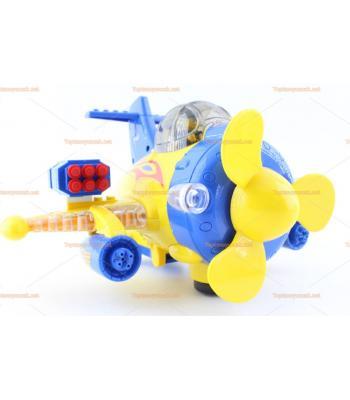 Toptan ışıklı savaş uçağı oyuncak legolu