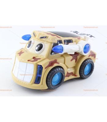 Toptan pilli füzeli 3D ışıklı oyuncak araba