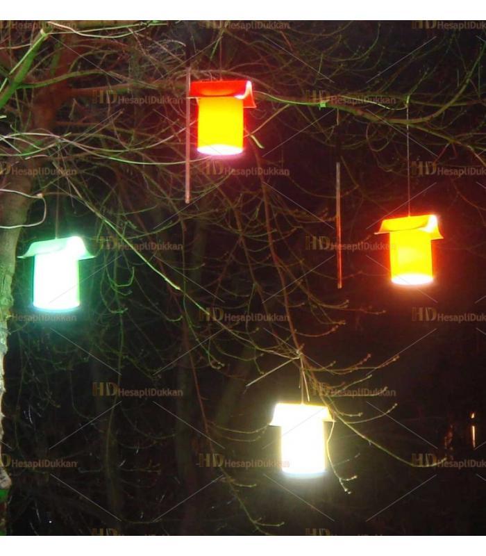 Ağaç feneri bahçe feneri su geçirmez dış mekan