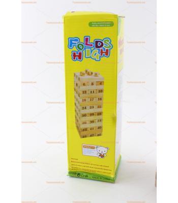 Toptan jenga oyuncak promosyon ahşap eğitici fiyatları