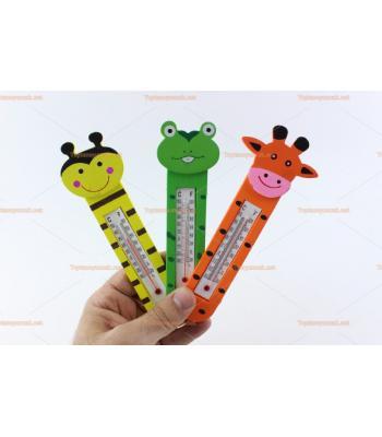 Toptan çocuk promosyon oyuncak mini termometre mıknatıslı