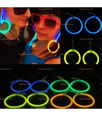 Toptan ışıklı glow küpe earring en ucuz fiyat satışları