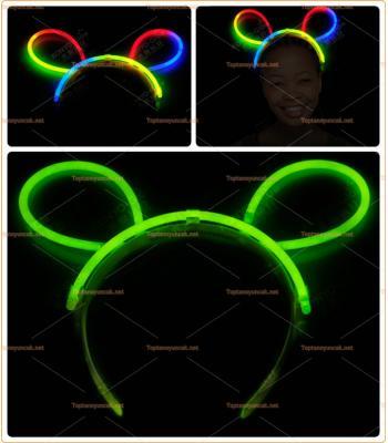 Toptan glow taç ışıklı fosforlu çubuk toka en ucuz fiyat