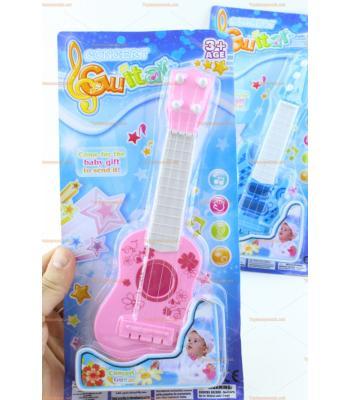 Toptan ucuz oyuncak gitar pembe