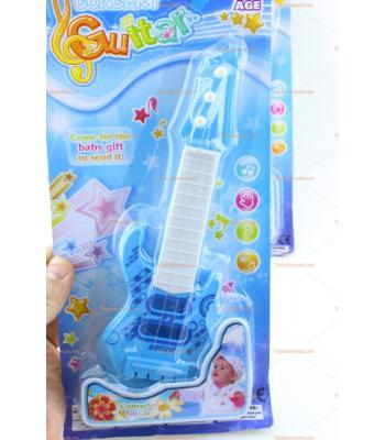 Ucuz toptan oyuncak gitar mavi