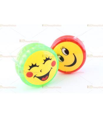 Promosyon oyuncak yoyo ışıklı gülen yüzlü