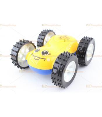 Toptan oyuncak araba çift taraflı taklacı it bırak