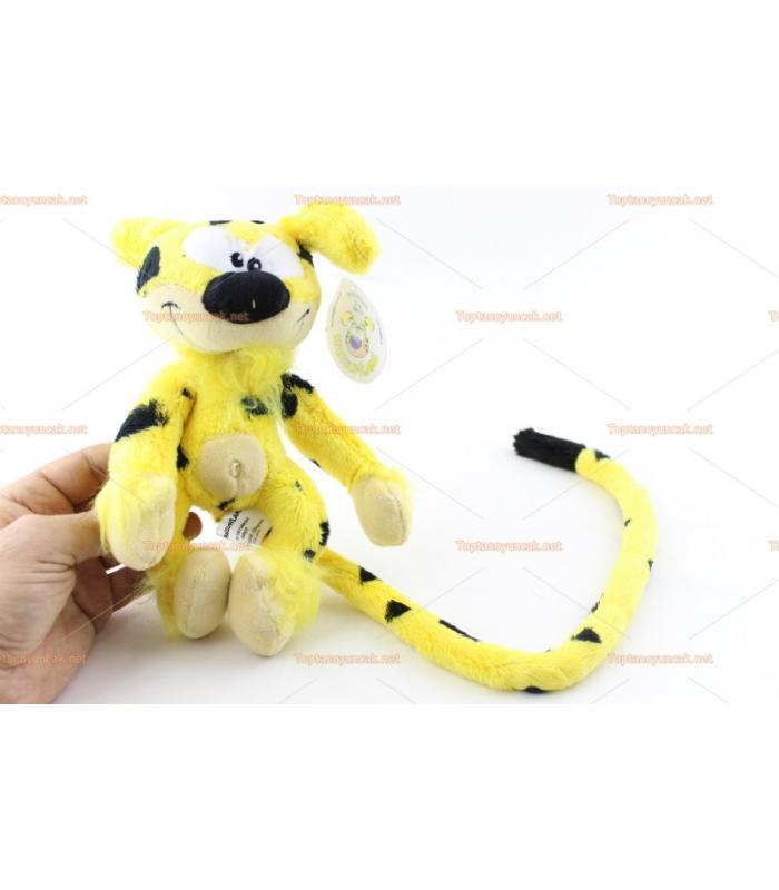 Marsupilami mini peluş oyuncak uzun kuyruklu haylaz