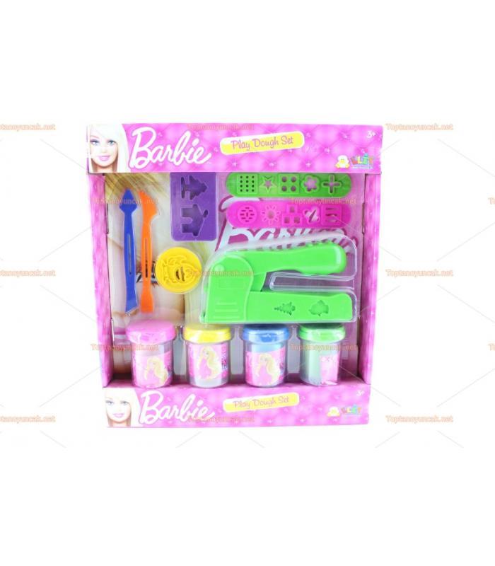 Lisanslı Barbie oyun hamur seti baskı zımbası ve aletleri