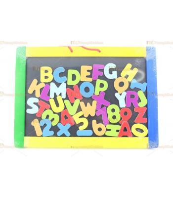 Toptan eğitici oyuncak magnet yazı tahtası harfler kara tahta