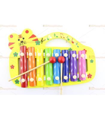 Toptan ucuz oyuncak hayvan figürlü eğitici ksilofon