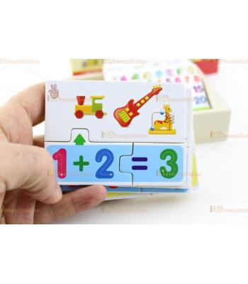Ahşap eğitici oyuncak domino toptan fiyat