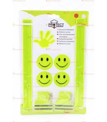 Reflektör karanlıkta parlayan sticker A4 seri toptan ilginç ürünler