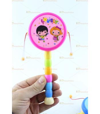 Toptan oyuncak ipli davul etkinlik ürünleri çok şirin renkler