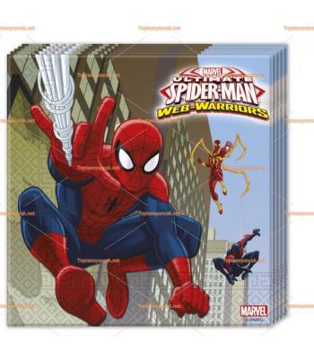 Spider man Örümcek adam parti peçete toptan