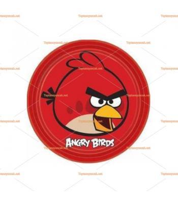 Angry birds parti tabak toptan