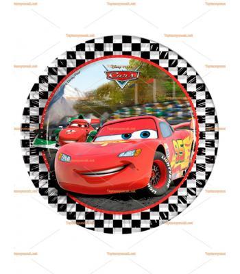 Cars arabalar parti kağıt tabak toptan