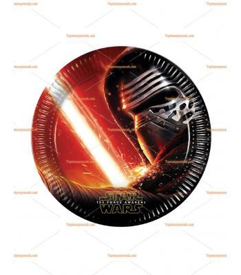 Star wars Yıldız savaşları parti tabak toptan