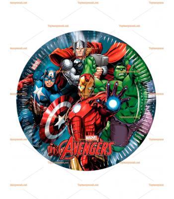Yenilmezler Avengers parti tabak toptan