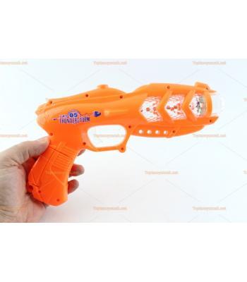 Toptan ışıklı oyuncak tabanca 3d ışıklı
