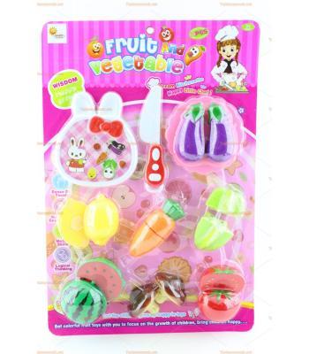 Toptan oyuncak meyve kesme cırt cırt 7 meyveli en ucuz fiyat