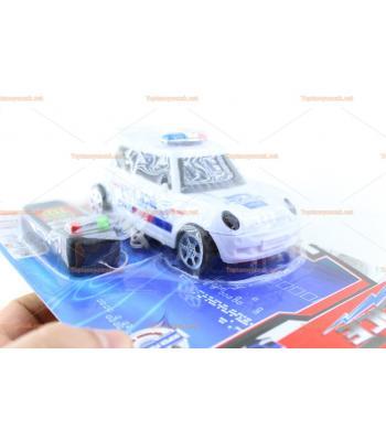 Toptan oyuncak araba kablo kumandalı polis taksi
