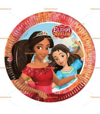 Prenses Elena parti tabak toptan