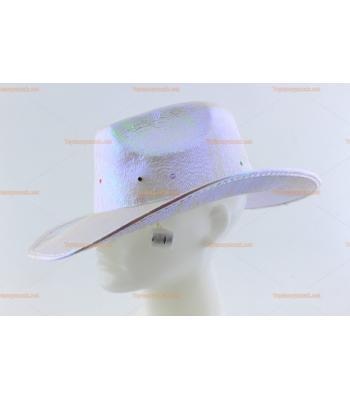 Toptan parti şapkaları ışıklı kovboy