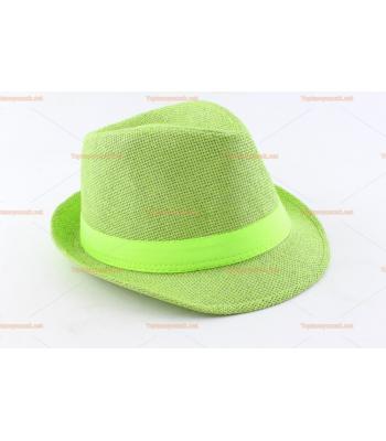 Toptan parti şapkaları yeşil renk yeşil kuşak