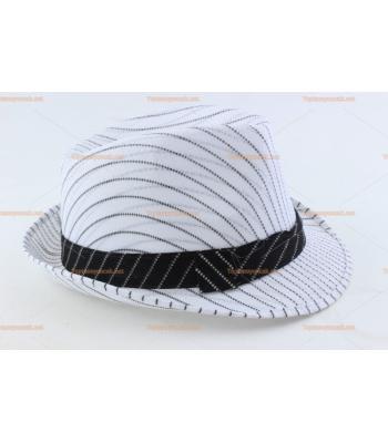 Toptan parti şapkaları çizgili kuşaklı