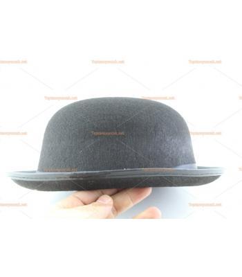 Toptan parti şapkaları melon siyah