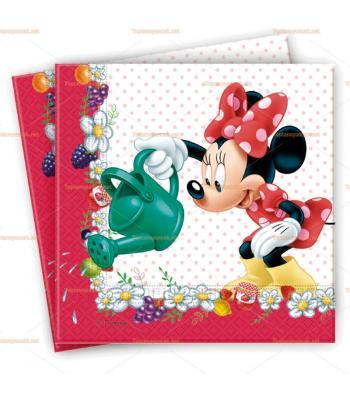 Minnie Mouse parti peçete toptan
