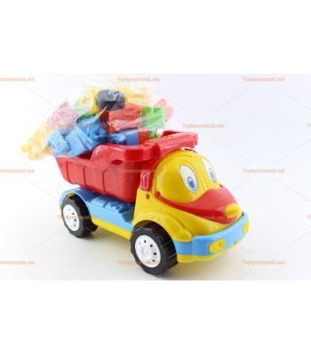 Toptan oyuncak legolu kamyon kutulu ürün promosyon