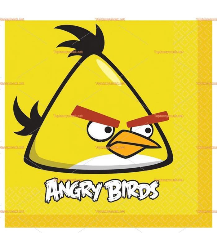 Angry Birds parti peçete toptan