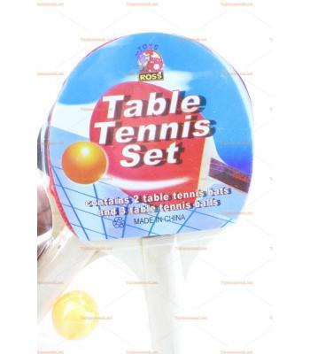 Toptan promosyon ucuz pinpon topu raket masa tenisi seti