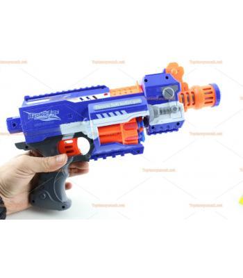 Toptan oyuncak nerf tüfek sünger ok tabanca otomatik atar