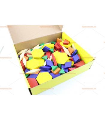 Toptan 125 parça tangram eğitici oyuncak