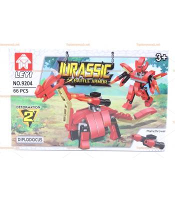 Toptan eğitici oyuncak lego dinozor seri 66 parça