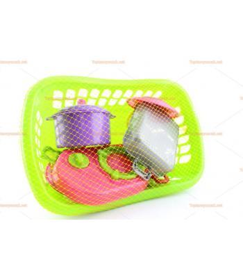 Toptan oyuncak piknik araçları sepeti
