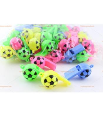 Toptan top şeklinde düdük ucuz promosyon oyuncak