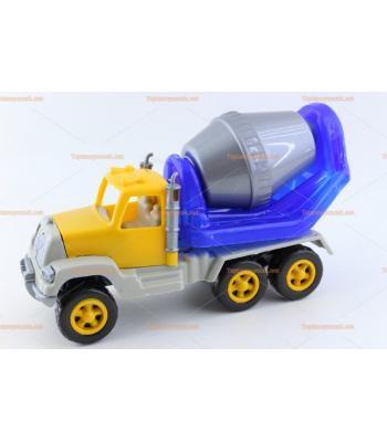 Toptan plastik oyuncak beton kamyonu promosyon