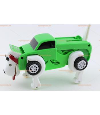 Toptan kurmalı köpek olan araba oyuncak