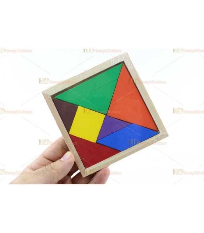 En ucuz promosyon oyuncak ahşap tangram