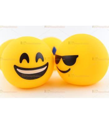 Promosyon emoji lamba çeşitli karakterler logo baskı