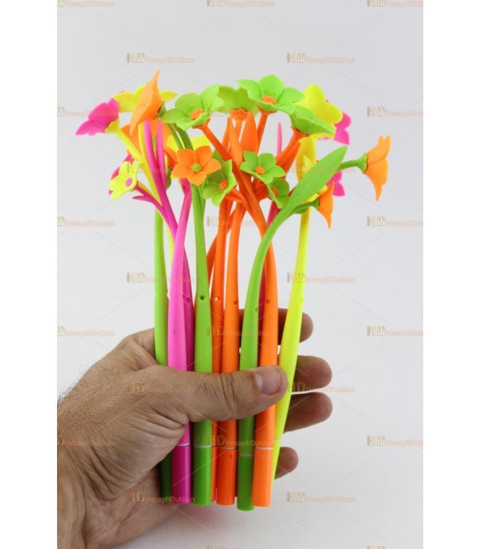 Çiçek şeklinde kokulu kalem ilginç promosyon ürünü