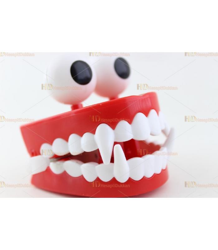 Promosyon oyuncak kurmalı takma diş
