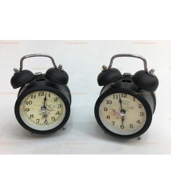Toptan hediyelik klasik çalar saat siyah renk